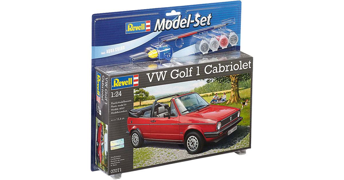 Revell Modellbausatz - Model Set VW Golf 1 Cabrio