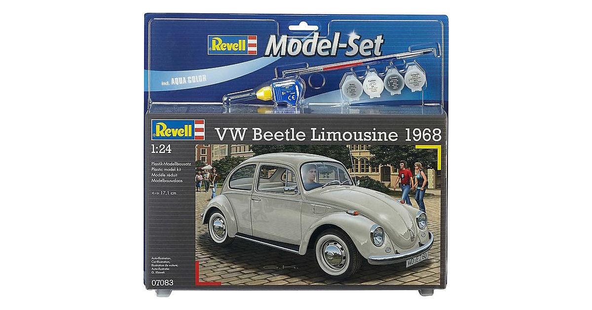 Revell Modellbausatz - Model Set VW Beetle Limousine 68