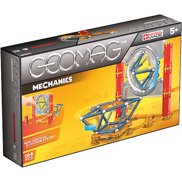 Geomag Mechanics, 164-tlg.