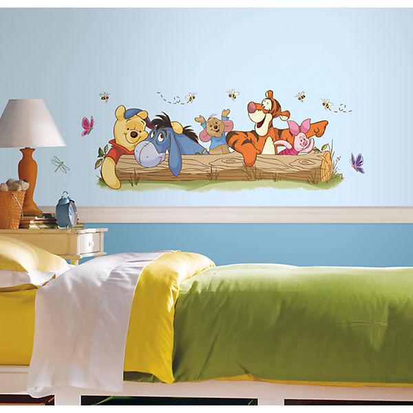 Wandsticker Winnie the Pooh & Friends, 10-tlg., Disney Winnie Puuh