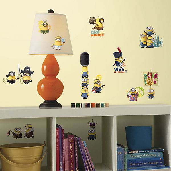 Wandsticker Minions Happy