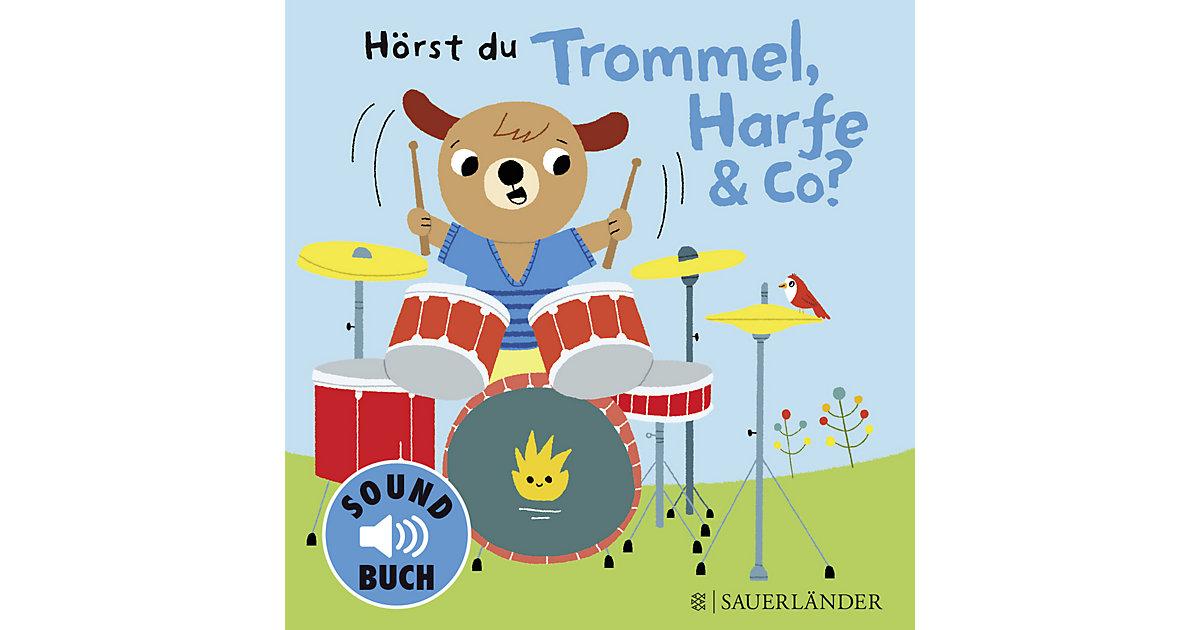 Hörst du Trommel, Harfe & Co?, Soundbuch mit kl...