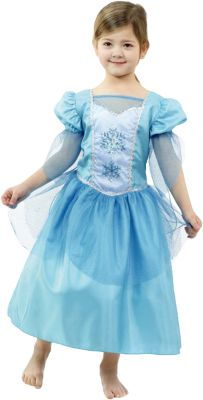 Kostüm Prinzessin Snowflake Gr. 128 Mädchen Kinder