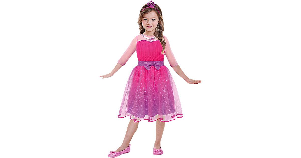 Kostüm Barbie Princess, 2-tlg. pink Gr. 104 Mädchen Kleinkinder