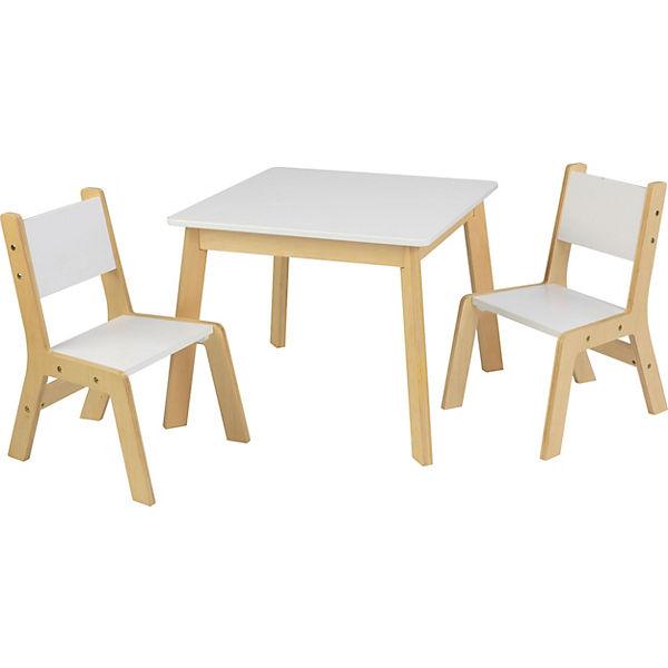 Moderner Kindertisch Mit 2 Stühlen KidKraft