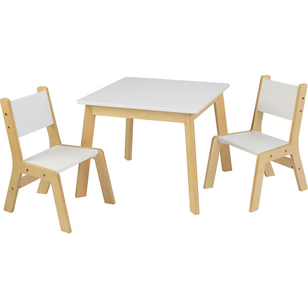 Moderner Kindertisch Mit 2 Stuhlen Kidkraft Mytoys