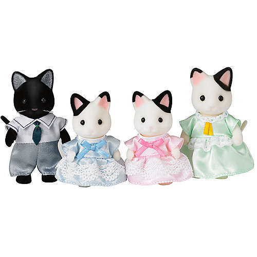 """Набор """"Семья Чёрно-белых котов"""", Sylvanian Families от Эпоха Чудес"""