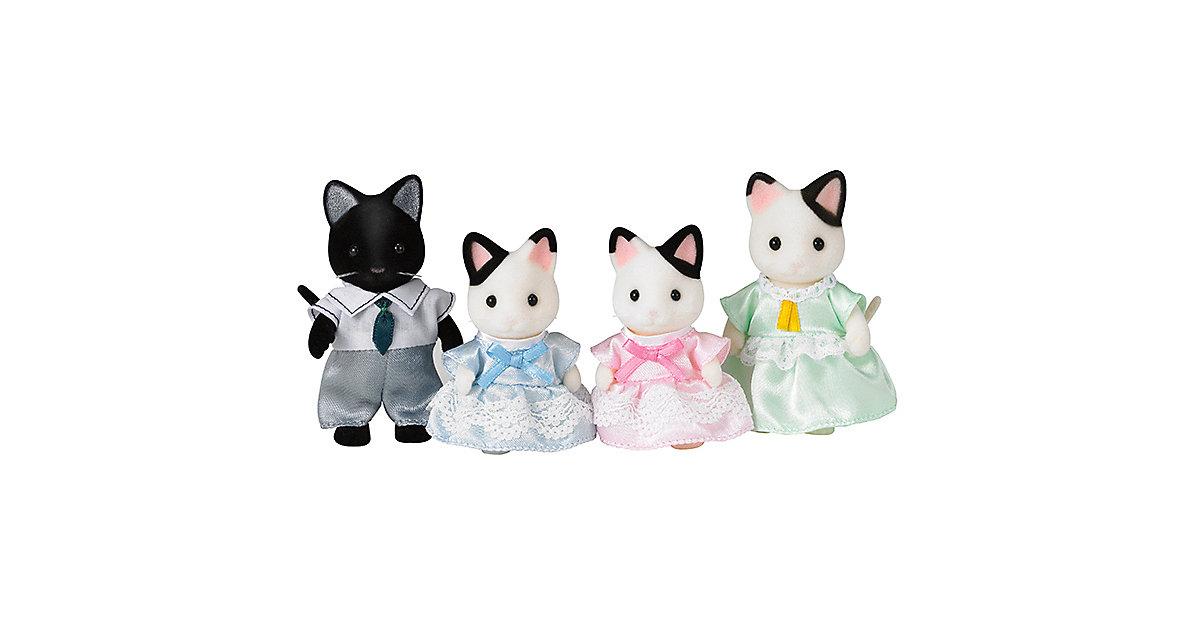 Sylvanian Families Tuxedo Katzen: Familie Schwa...