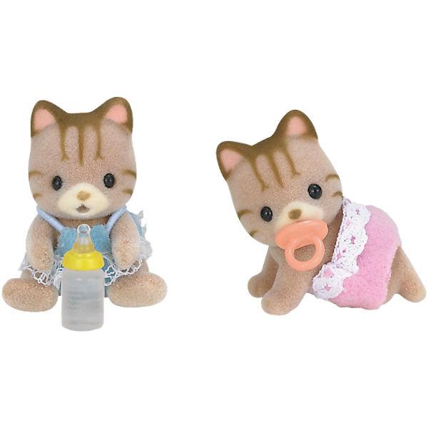 """Набор """"Полосатые котята-двойняшки"""", Sylvanian Families"""