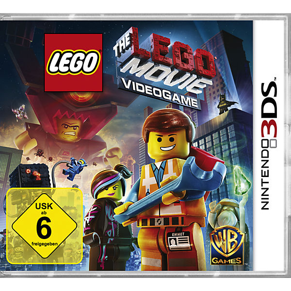 3DS The LEGO Movie Videogame