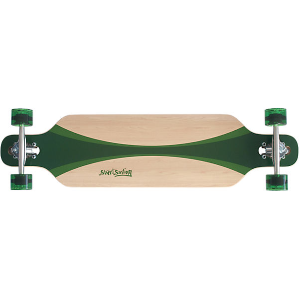 "Streetsurfing® Longboard Freeride 39"" - Carving Green"