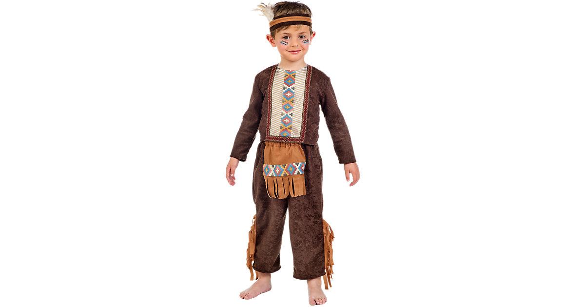 Kostüm Indianer Gr. 80/86 Jungen Kleinkinder