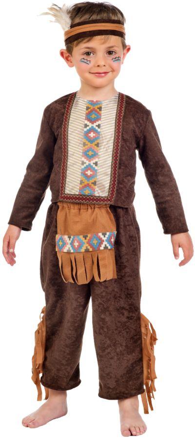Kostum Indianer Boy Wild Wigwam 3 Tlg Funny Fashion Mytoys
