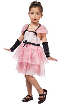 Kostüm Hollywood-Sternchen Holly Gr. 116/128 Mädchen Kleinkinder