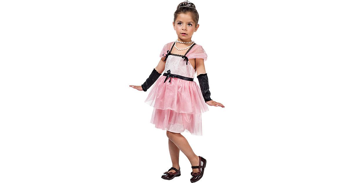 Kostüm Hollywood-Sternchen Holly rosa Gr. 92/98 Mädchen Kleinkinder