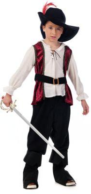 Kostüm Musketier Gr. 104/116 Jungen Kleinkinder