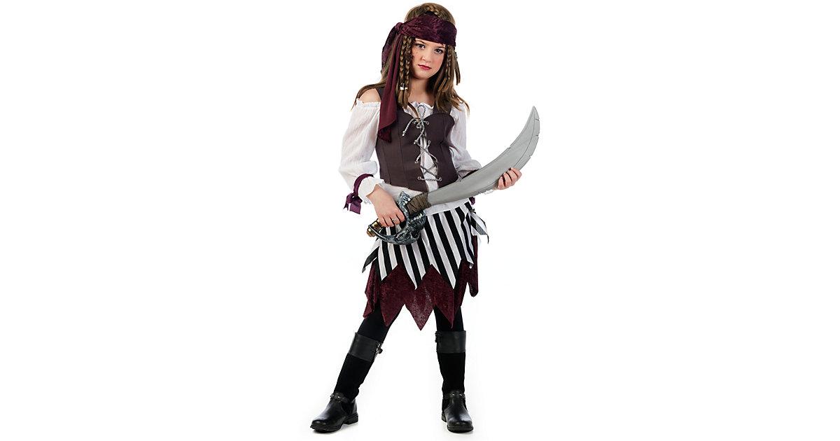 Kostüm Piratin Talia Gr. 128/140 Mädchen Kinder