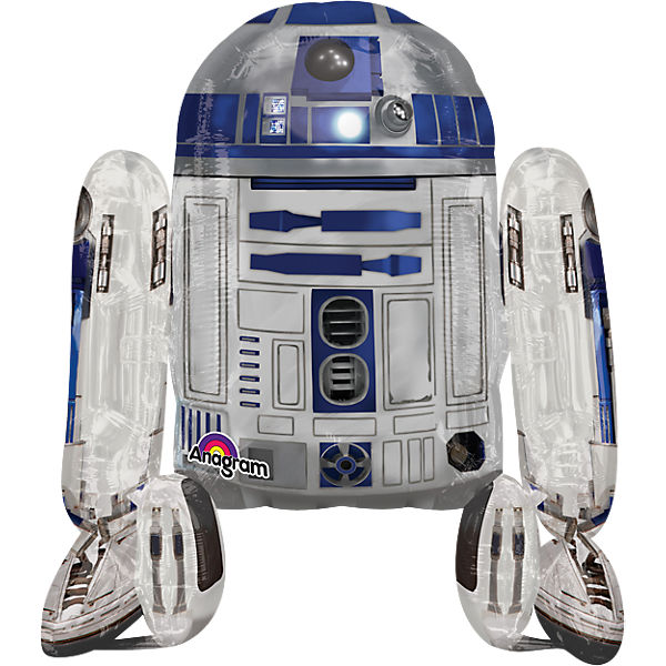 Folienballon AirWalker Star Wars R2D2