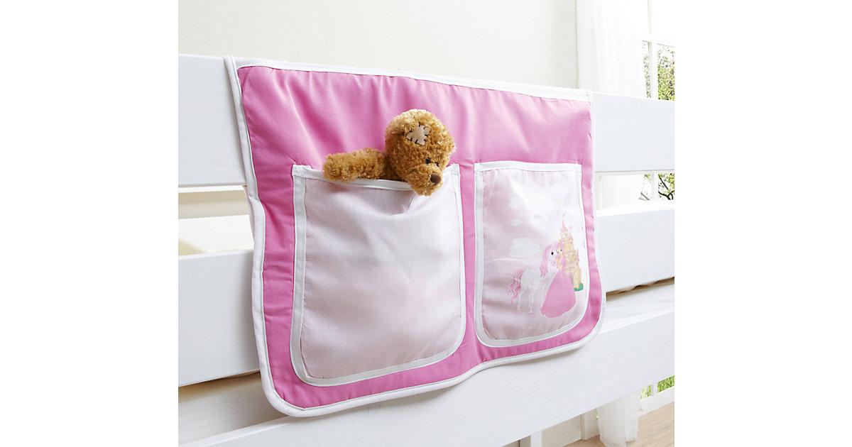 Bett-Tasche Hoch- und Etagenbetten, Pferde pink Gr. 30 x 50 Kinder