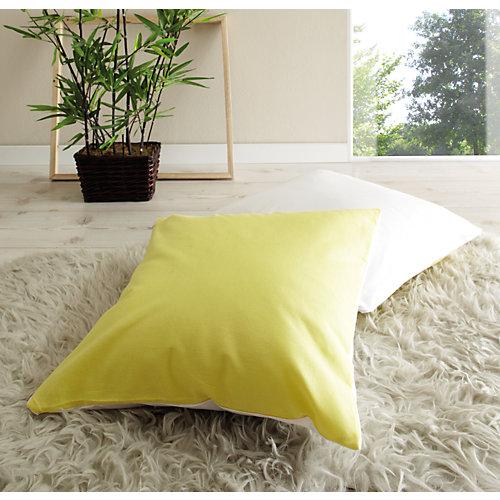 TICAA Kissen-Set 2-tlg., 40 x cm, gelb-weiß Sale Angebote Proschim