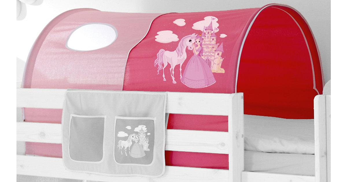Tunnel Hoch- und Etagenbetten, Pferde pink Kinder