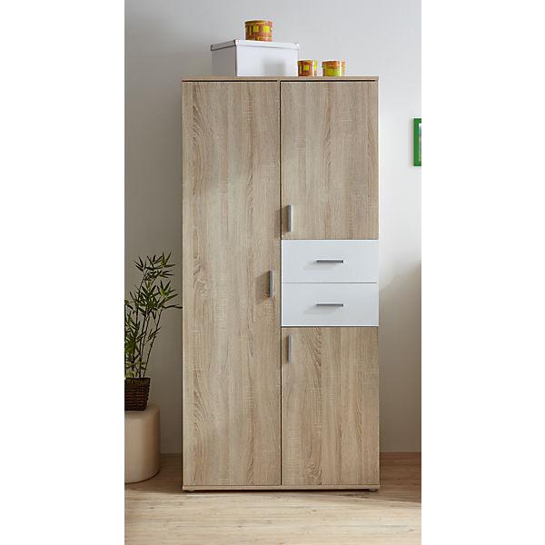 babyzimmer nico 3 tlg kleiderschrank wickelkommode. Black Bedroom Furniture Sets. Home Design Ideas