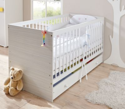 Babyzimmer komplett grau  Babyzimmer Irene Classic, 6-tlg. (Kinderbett, Schubkasten ...