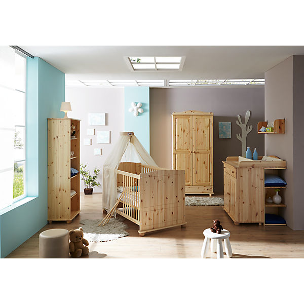 kleiderschrank adam 2 t rig kiefer massiv natur ticaa mytoys. Black Bedroom Furniture Sets. Home Design Ideas