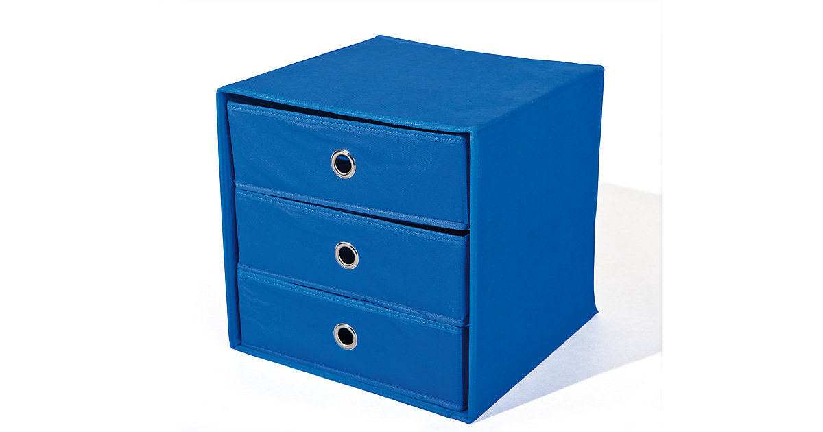 aufbewahrungsbox blau. Black Bedroom Furniture Sets. Home Design Ideas