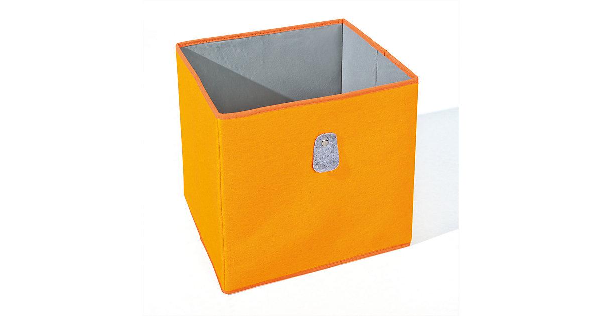 Image of Aufbewahrungsbox, orange/grau