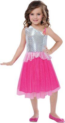 Kostüm Barbie Rock & Royals Extra Value Gr. 104/116 Mädchen Kleinkinder