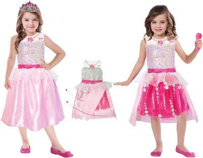 Kostüm Barbie Rock & Royals Premium Gr. 128/152 Mädchen Kinder