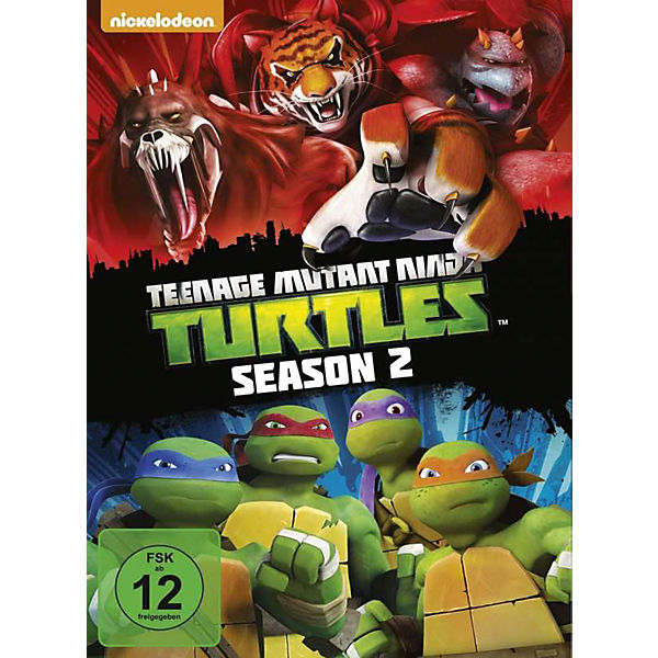 DVD Teenage Mutant Ninja Turtles - Retreat!