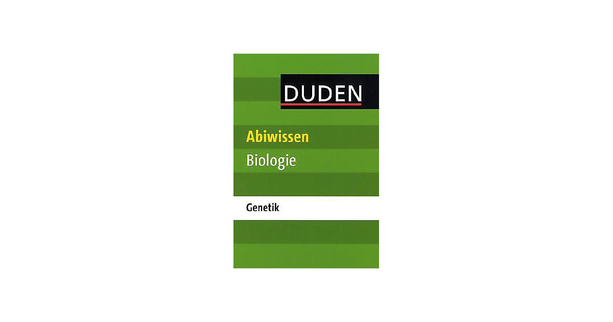 Duden - Abiwissen Biologie: Genetik