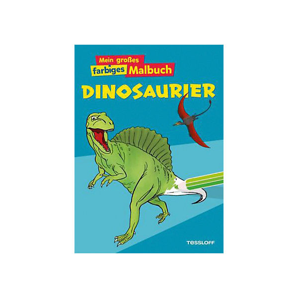 Mein gro es farbiges malbuch dinosaurier silke neubert mytoys - Neubert gartenmobel ...