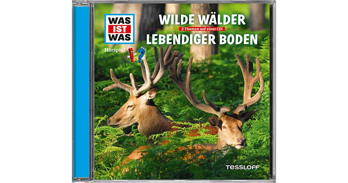 WAS IST WAS Hörspiele: Wilde Wälder/ Lebendiger Boden Hörbuch