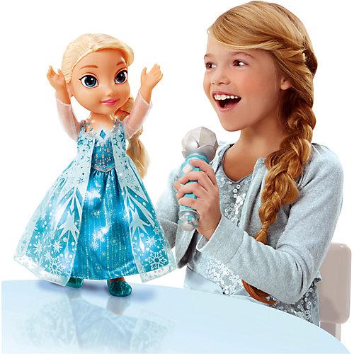Кукла Эльза с микрофоном, Холодное Сердце от Disney