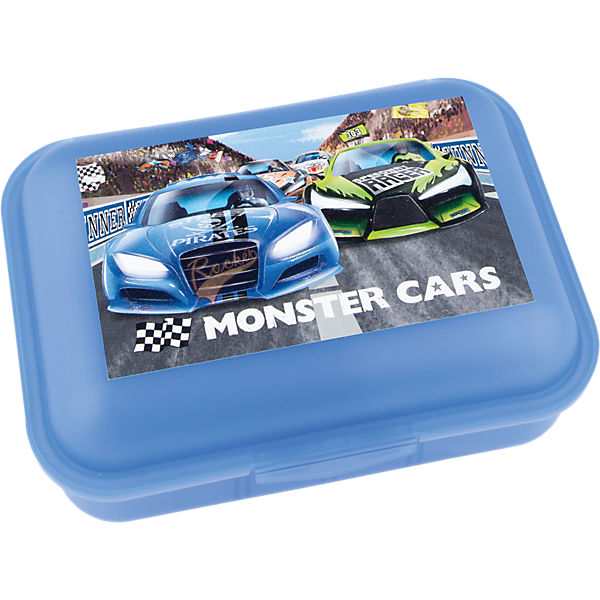 Brotdose Monster Cars, sortiert