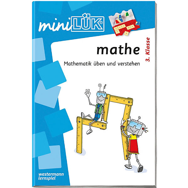mini LÜK: Mathe 3. Klasse, Übungsheft