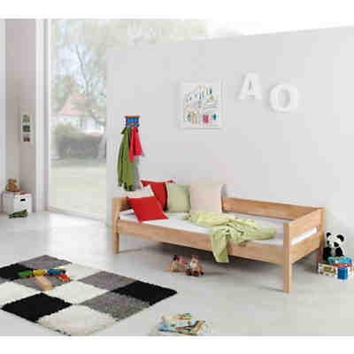 natur lackiert hochbett renate 90x200 inkl rollrost buche geleimt natur lackiert 2 - Etagenbett Couch Lego Film