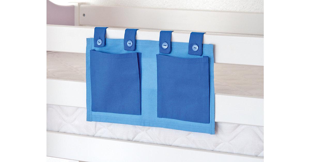 Betttasche Hoch- & Etagenbett, hellblau  Kinder