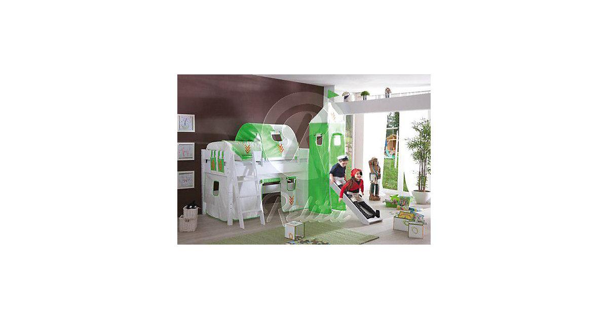 Tunnel zu Hoch- & Etagenbetten, 75 cm, Indianer grün