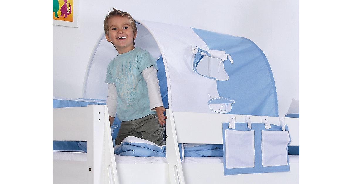 Tunnel zu Hoch- & Etagenbetten, 75 cm, hellblau
