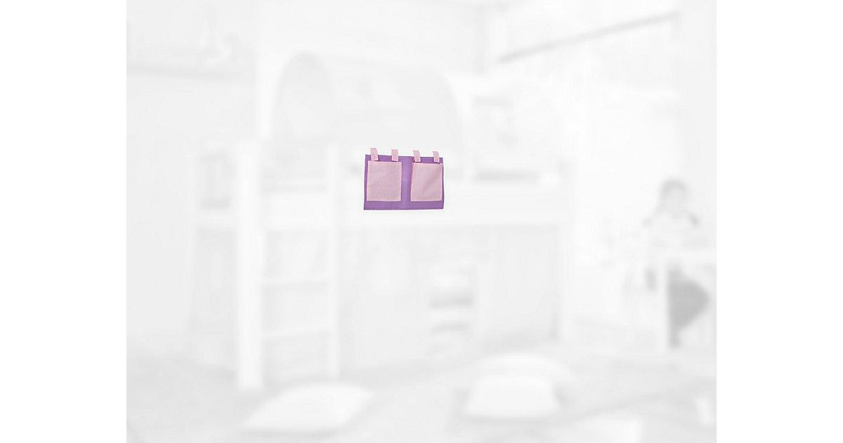 Betttasche Hoch- & Etagenbetten, lila-rosa  Kinder