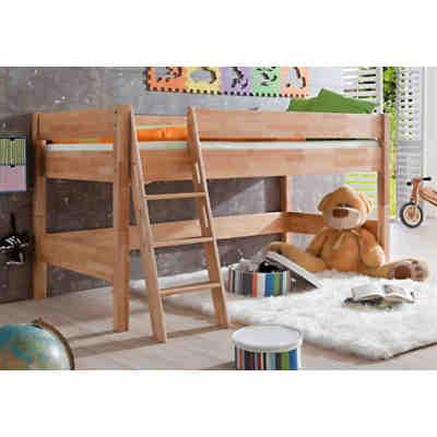 halbhochbett mytoys. Black Bedroom Furniture Sets. Home Design Ideas