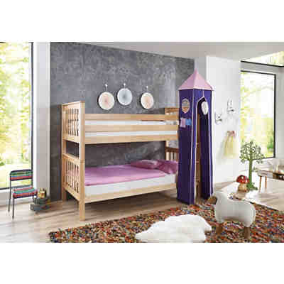 betttasche f r hoch etagenbetten rosa violett relita mytoys. Black Bedroom Furniture Sets. Home Design Ideas