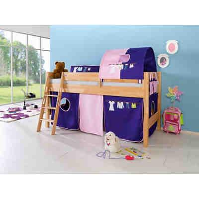 spielbett holzh tte tom kernbuche massiv ge lt 90 x 200 cm relita mytoys. Black Bedroom Furniture Sets. Home Design Ideas