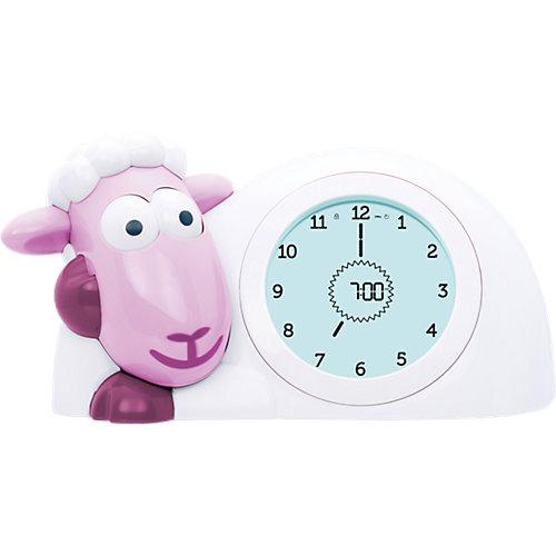 Часы-будильник для тренировки сна Ягнёнок Сэм (SAM) ZAZU. Розовый. 2+. Арт. ZA-SAM-03 от ZaZu