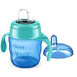 Чашка-поильник с носиком Comfort, 200 мл, Avent, голубой/зеленый