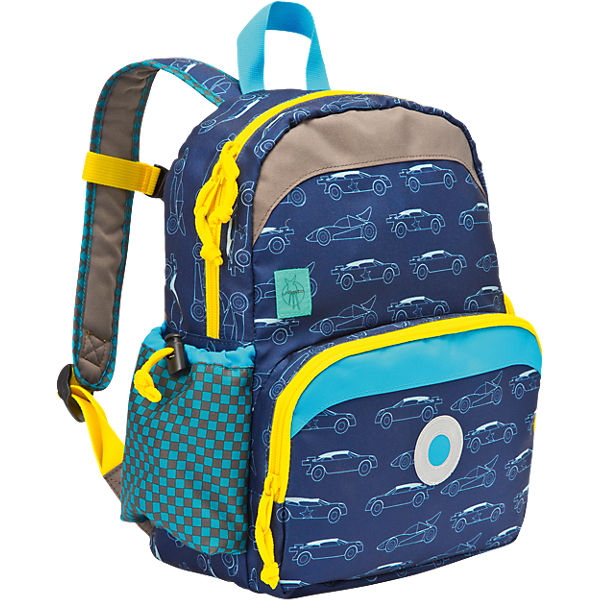Kindergarten Rucksack 4kids, Mini Backpack, Cars navy
